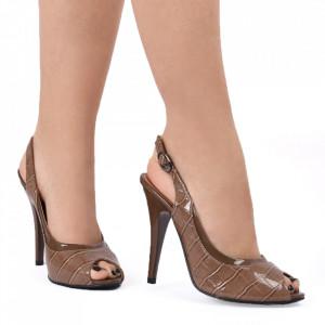 Sandale pentru dame cod VN5129-4 BROWN