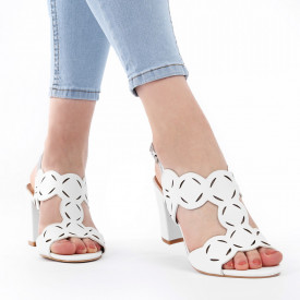 Sandale pentru dame cod Z01 White