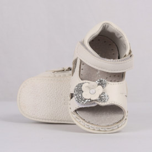 Sandale pentru fete cod CP59 Albe