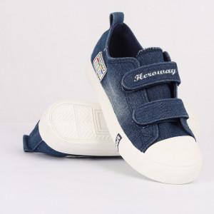 Sneakers pentru băieți cod HT1053 Albastru