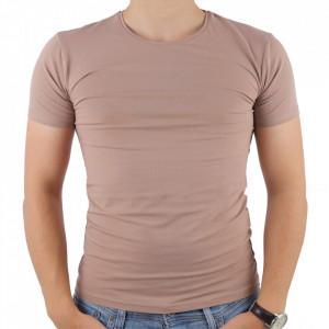 Tricou pentru bărbați cod 4101 Bej
