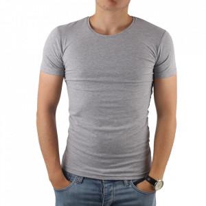 Tricou pentru bărbați cod 4101 Gri