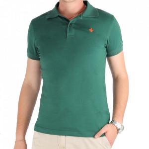 Tricou pentru bărbați Cod L1001 Green