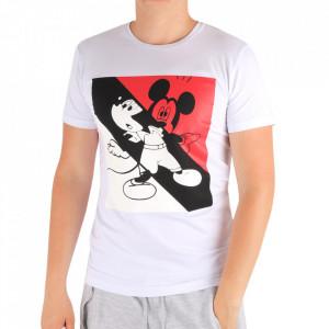 Tricou pentru bărbați Cod MK3 White