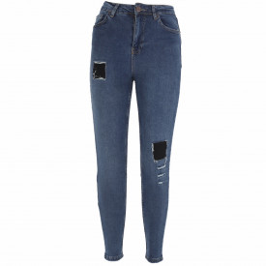 Pantaloni de blugi pentru dame cod BLG102 Albastri