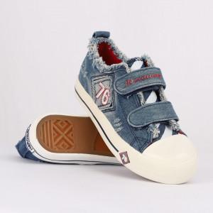 Sneakers pentru băieți cod HT878 Albastru Deschis