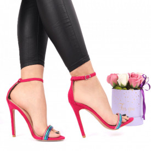 Sandale pentru dame cod ST0020 FUCHSIA