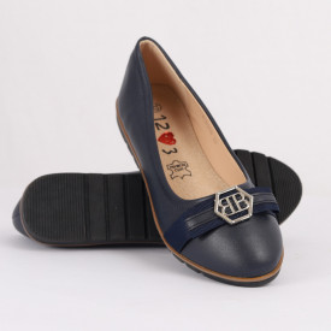 Pantofi pentru fete cod XLD216 Bleumarin