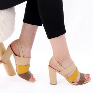 Sandale pentru dame cod Z02 Bej