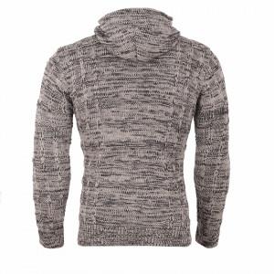 Bluză Aaron Bej - Bluza este cel mai versatil articol vestimentar din sezonul rece, o piesă cu reputaţie a stilului casual având compoziţia 50% lână 50% acrilic - Deppo.ro