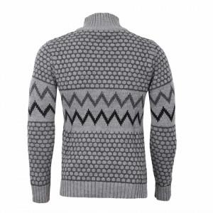 Bluză Colin Gri - Bluza este cel mai versatil articol vestimentar din sezonul rece, o piesă cu reputaţie a stilului casual având compoziţia 50% lână 50% acrilic - Deppo.ro