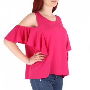 Bluză pentru dame cod 53814 Fuchsia