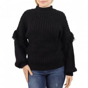 Bluză pentru dame cod F50 Black