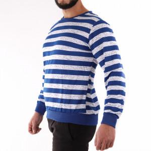 Bluză Rocco Navy - Bluza cu mâneci lungi este cel mai versatil articol vestimentar din sezonul rece, o piesă cu reputaţie a stilului casual având compoziţia 60% bumbac, 40% poliester - Deppo.ro