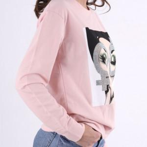Bluza Roz Pudra - Cumpără îmbrăcăminte și incăltăminte de calitate cu un stil aparte mereu în ton cu moda, prețuri accesibile și reduceri reale, transport în toată țara cu plata la ramburs - Deppo.ro