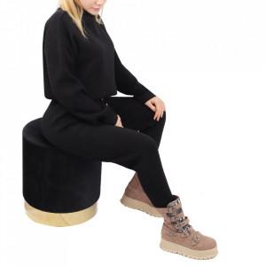 Compleu tricot damă Black
