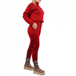 Compleu tricot damă Red