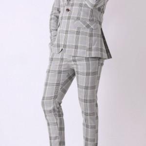Costum slim fit Gregor - Cumpără îmbrăcăminte și încălțăminte de calitate cu un stil aparte mereu în ton cu moda, prețuri accesibile și reduceri reale, transport în toată țara cu plata la ramburs - Deppo.ro