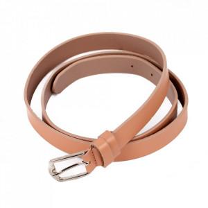 Curea din piele naturală roz pentru dame C007 - Curea din piele naturală pentru dame ideală de asortat la o tinuta sport-casual - Deppo.ro