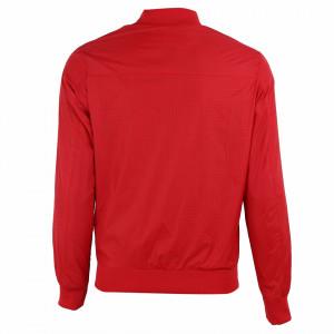 Geacă de fâş pentru bărbați cod P18087 Roșie - Geacă pentru bărbați model primăvară-toamnă pe roșu - Deppo.ro