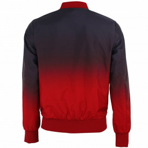 Geacă pentru bărbați cod G826 Roșie - Geacă pentru bărbați model primăvară-toamnă pe galben, ideal pentru mișcare în aer liber - Deppo.ro
