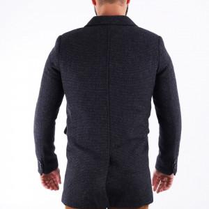 Palton Rafael Gri - Modelul prezintă o croială cambrată, inchidere la un singur rând de nasturi, pe interior paltonul este prevăzut cu căptuşeală satinată, doua buzunare laterale inserate si un buzunar interior. Compoziţie 85% lână, 15% poliester - Deppo.ro