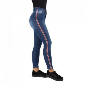 Pantaloni de blugi pentru dame cod 1150 Albaștri