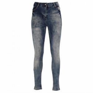 Pantaloni de blugi pentru dame cod 1705 Negri