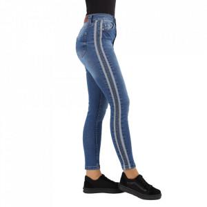 Pantaloni de blugi pentru dame cod 419 Albaștri