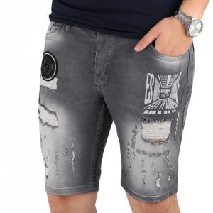 Pantaloni scurți pentru bărbați cod TPB75 Grey