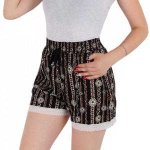 Pantaloni scurți pentru dame cod PT75 Black