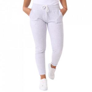 Pantaloni sport pentru dame cod DD89 L.Grey