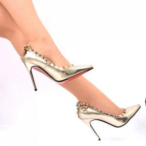 Pantofi cu toc Cod 7875