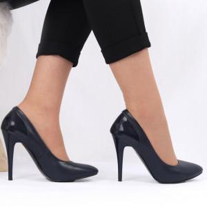 Pantofi cu toc pentru dame cod VN5107 D.BLUE