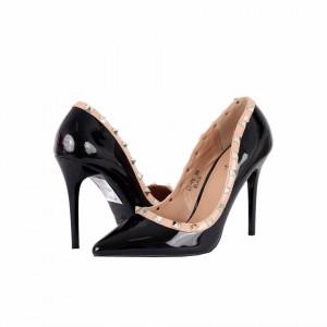 Pantofi Cu Toc Ritta Black