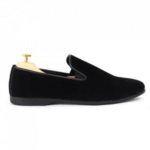 Pantofi din piele ecologică cod GADO003 Negri