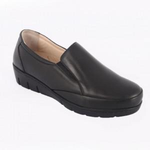 Pantofi din piele naturală cod 310 Black