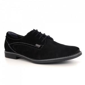 Pantofi din piele naturală pentru bărbați cod 553 VN