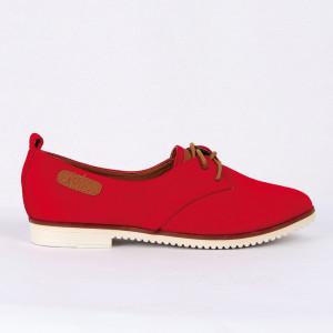 Pantofi pentru dame Cod B0001 Rosi - Pantofii îți transformă limbajul corpului și atitudinea. Te înalță fizic și psihic! Pantofi pentru dame din piele ecologică lăcuită - Deppo.ro