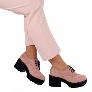 Pantofi pentru dame cod V15 Apricot