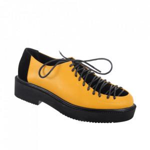 Pantofi pentru dame cod XH-03 Yellow