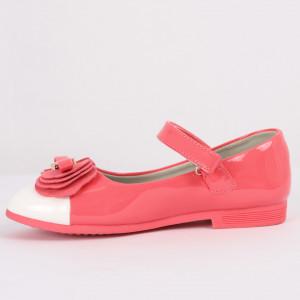 Pantofi pentru fete cod CP69 Roz - Pantofi pentru fete cu un design lejer ceea ce ii face foarte comozi la purtare - Deppo.ro
