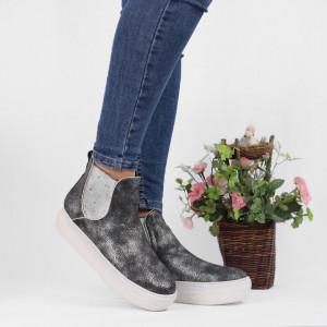 Pantofi Sport Cod 673 - Pantofi sport din piele ecologică cu platformă  Foarte comfortabili - Deppo.ro
