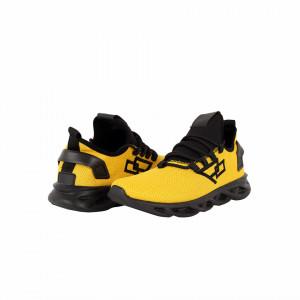 Pantofi Sport Daniel Yellow