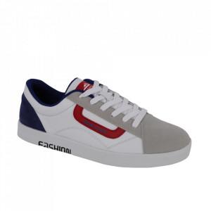 Pantofi sport din piele naturală cod 1826-1 White