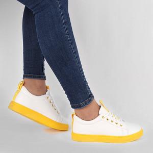 Pantofi sport Iris Galben Neon