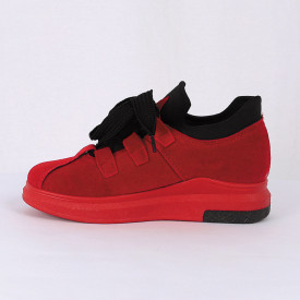 Pantofi Sport Karlee Cod 471 - Pantofi sport din piele ecologică întoarsă  Închidere prin șiret  Foarte comfortabili - Deppo.ro