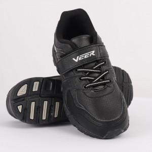 Pantofi sport pentru băieți cod 90233 Negri