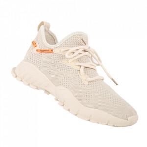 Pantofi sport pentru bărbați cod 206-1 Beige