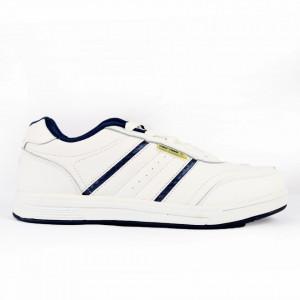 Pantofi Sport pentru bărbați cod 9204 White - Pantofi sport pentru bărbați Ideali pentru ieșiri si practicarea exercitiilor în aer liber - Deppo.ro